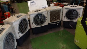 5 x HONEYWELL 240v air chillers