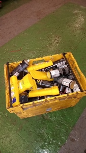 Box of line marking paint