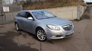 VAUXHALL INSIGNIA 2.0l diesel, leather (DS62 WXT) (MoT 12th March 2021) (V5 & MoT in office)