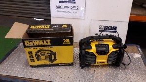 DEWALT DCR016 radio (unused)