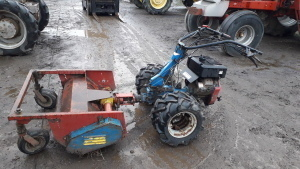 TRACMASTER BCS 603 petrol driven flail mower