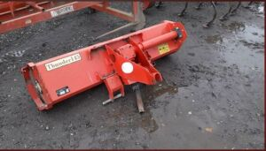 DEL MORINO 5FT THUNDER 145 power harrow to suit a compact tractor (s/n 81604)