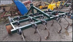 10' spring tine cultivator