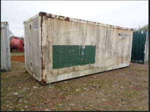 20' insulated storage container