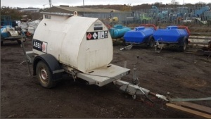 WESTERN Abbi 950l fast tow bunded fuel bowser with hose (221A0096)