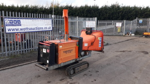 TimberWolf tw150TR chipper