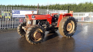 Massey Ferguson 188 four-wheel drive tractor