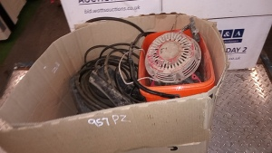 Miscelleaneous plant spares (belts, starter cords)