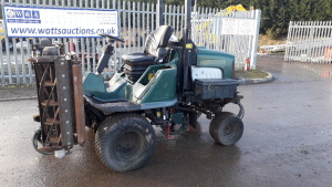 2005 Hayter 324 four-wheel drive triple mower