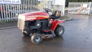 Roper petrol ride on mower
