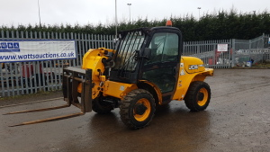 2011 JCB 520-40 loadhall (MX61 APF) (V5 in office) (yellow)
