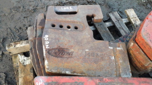 4 x FORD 10 SERIES weights