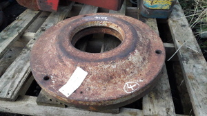 2 x INTERNATIONAL BRADFORD built rear wheel weights