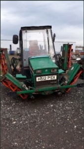 RANSOMES 350D 5-gang cylinder ride on mower (H512 PSX)