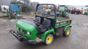 2004 JOHN DEERE PRO GATOR 2030 4wd diesel utility vehicle c/w hydraulic rear tipping body, S/n:B060135