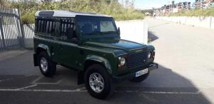 LAND ROVER DEFENDER 90 TDI c/w CLIFFORD alarm (R409 GGA) (MoT 14th April 2021) (V5, logbook & MoT in office)+C3.