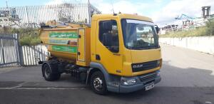 2013 DAF LF refuse collector c/w rear bin lift & high tip body (SV63 DWN) (MoT until 31 October 2020) (V5 & MoT in office) (R&D)