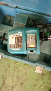 MAKITA charger & case