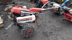 HONDA F610 rotivator c/w attachments