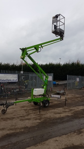 2015 NIFTYLIFT 90MEB fast tw battery powered cherry picker S/n: 090 29147