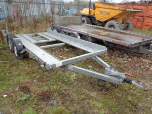 BRIAN JAMES twin axle car transporter trailer S/n:D105000