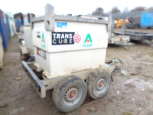WESTERN Trans Cube twin axle fast tow bunded fuel bowser with hose (A667493)