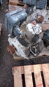JCB dumpster engine