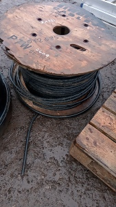 Roll of armoured cable