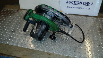 HITACHI 110v circular saw