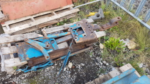 FORD 4000/460 PUH & drawbar