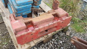 IH 956-105BETC tombstone weight block