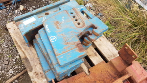 FORD 10 series weights