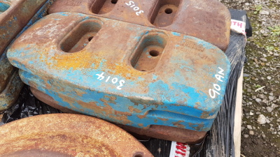 3 x FORD slab weights