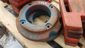 2 x FORD front wheel weights
